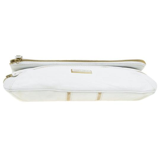 Jimmy Choo Leather Suede Suedete Clutch