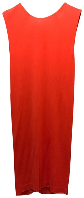 Preload https://img-static.tradesy.com/item/23382660/t-by-alexander-wang-red-orange-cross-back-draped-mid-length-night-out-dress-size-8-m-0-1-650-650.jpg
