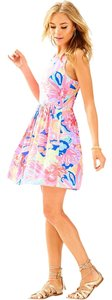 Lilly Pulitzer short dress Multi Playa Hermosa Sundress Summer Party Wedding on Tradesy