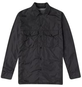 Rag & Bone Men's Water-resistant Shirt Black Jacket