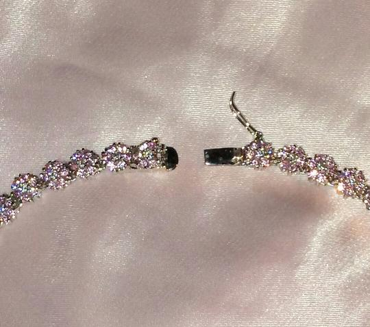 Suzanne Somers Suzanne Somers Daisey Pink and White CZ necklace