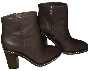 Coach CHOCOLATE BROWN/SILVER Boots