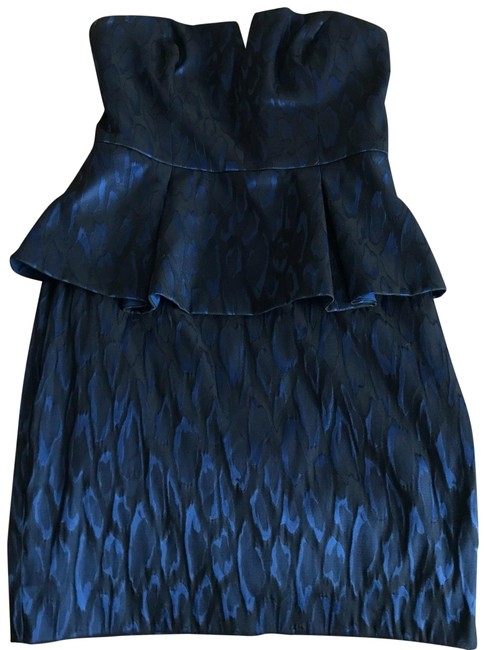 Preload https://img-static.tradesy.com/item/23382937/nicole-miller-blue-peplum-mid-length-cocktail-dress-size-8-m-0-1-650-650.jpg