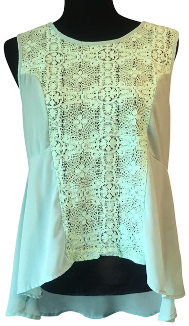 Preload https://img-static.tradesy.com/item/23383004/altar-d-state-mint-green-hi-lo-tank-top-self-polyester-contrast-60-polyester-40-nylon-blouse-size-os-0-1-650-650.jpg