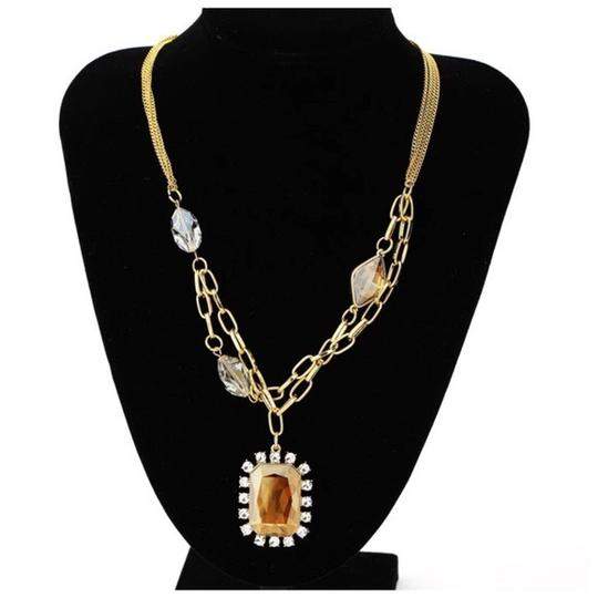 Other Swarovski Crystals The Reba Cognac Necklace S13