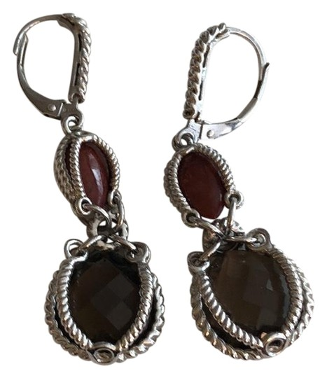 Preload https://img-static.tradesy.com/item/23383081/brown-and-red-ss-leverback-earrings-0-1-540-540.jpg