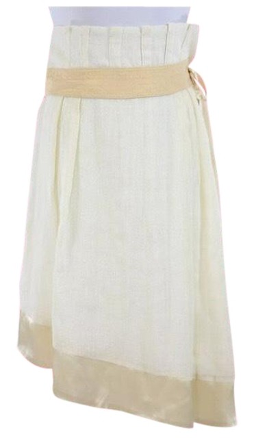 Preload https://img-static.tradesy.com/item/23383118/people-like-frank-yellow-and-cream-asymmetric-linen-knee-length-skirt-size-2-xs-26-0-1-650-650.jpg