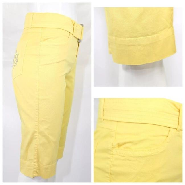 Dismero Capri/Cropped Pants Yellow