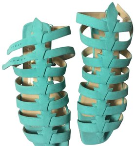 Christian Louboutin turquoise Sandals