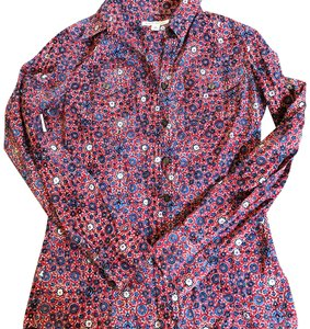 Banana Republic Button Down Shirt print