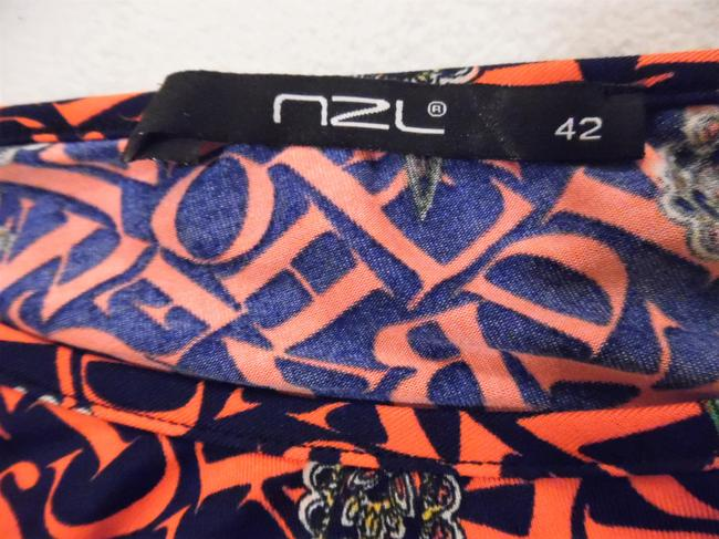 NZL Top Navy Blue, Red, Green