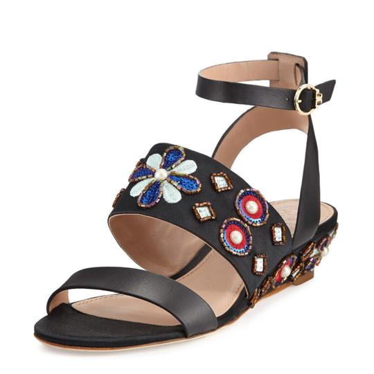 Preload https://img-static.tradesy.com/item/23383556/tory-burch-black-multi-color-embellished-beaded-jeweled-wedge-sandals-size-eu-37-approx-us-7-regular-0-1-540-540.jpg