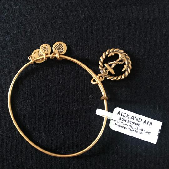 Alex and Ani Anchor & Rope Bracelet