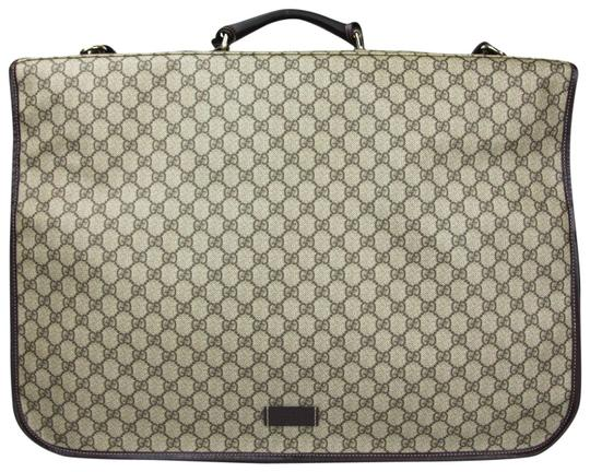 Preload https://img-static.tradesy.com/item/23383770/gucci-brownbeige-garment-211123-8588-brownbeige-gg-supreme-canvas-weekendtravel-bag-0-1-540-540.jpg