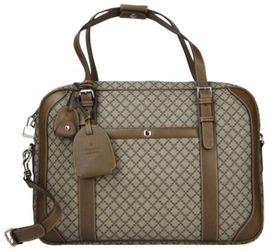 Gucci Unisex Beige/Brown Diamante Briefcase Beige/brown Travel Bag