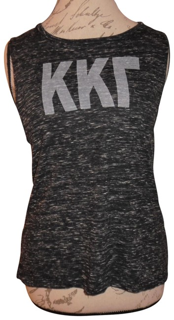 Preload https://img-static.tradesy.com/item/23383854/bella-charcoal-gray-printed-heathered-sleeveless-hi-lo-workout-gym-tank-topcami-size-8-m-0-1-650-650.jpg