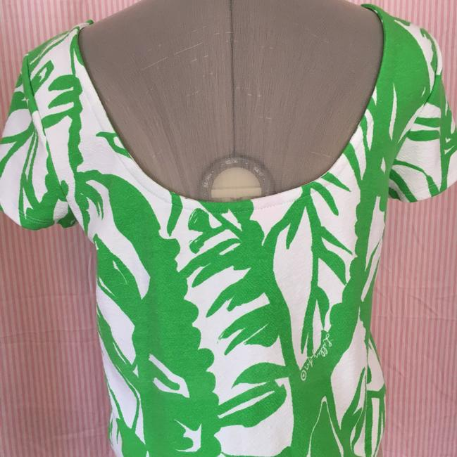 Lilly Pulitzer Top Green & White