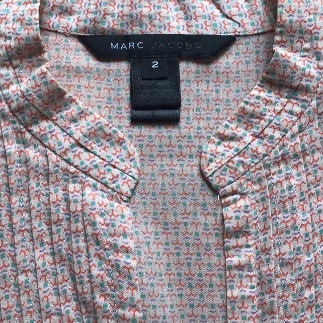 Marc Jacobs Top peach with colored pattern