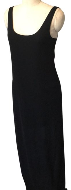 Preload https://img-static.tradesy.com/item/23383907/leith-black-stretchy-long-casual-maxi-dress-size-6-s-0-1-650-650.jpg