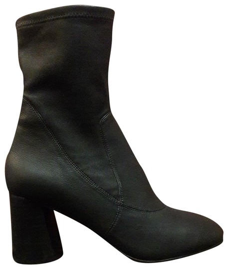Donald J. Pliner Leather Stretch Leather Sellingcrazy Designer Black Boots