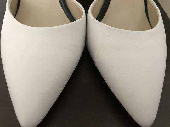 Charley Amar Black and White Pumps