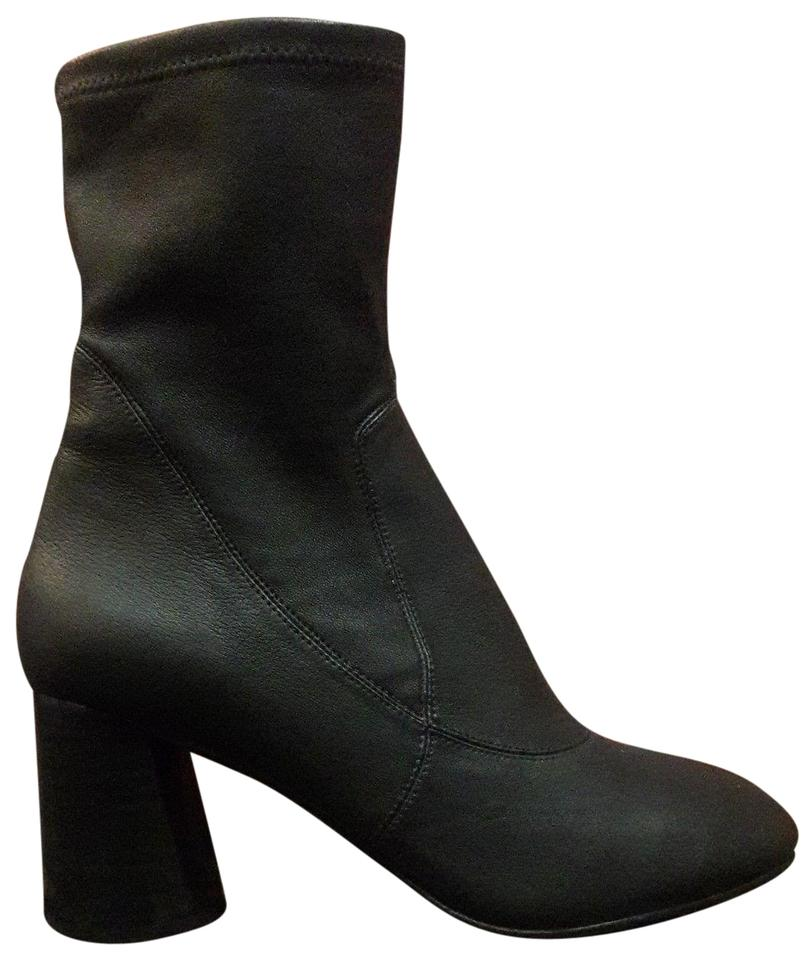 Donald J. Stretch Pliner Black Gisele Napy Stretch J. High Heel New 8 1/2 Boots/Booties bee1b6