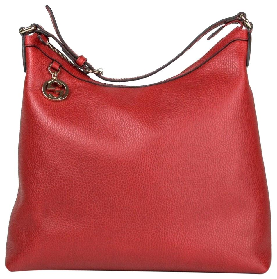 09569c7f86b Red Gucci Shoulder Bags - Up to 90% off at Tradesy