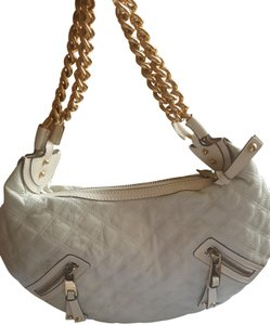 5fee20afc417 Marc Jacobs Quilted Classic Metallic Hardware Banana Hobo Bag