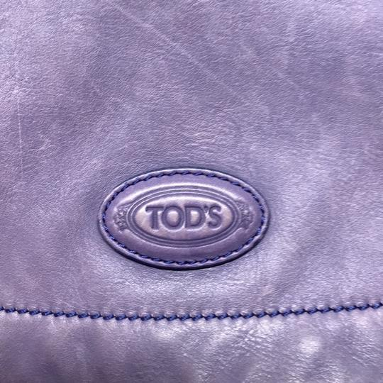 Tod's Rare Color Leather Braided Shoulder Bag