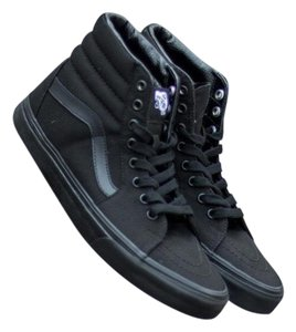 7077faefe1 Vans Black Athletic - item med img. Vans. Black Canvas Sk8 Hi Sneakers