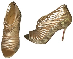Christian Louboutin Gold Formal