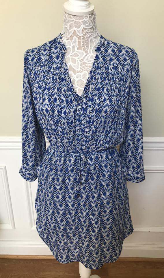 f77ad95dde6ee Anthropologie Blue Maeve Galen Short Casual Dress Size 2 (XS) - Tradesy