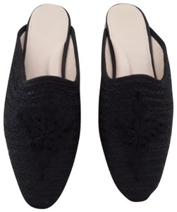 Carrie Forbes Black Mules