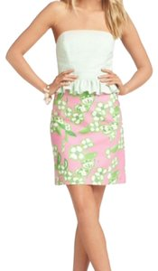 Lilly Pulitzer short dress Pink and Green Preppy on Tradesy