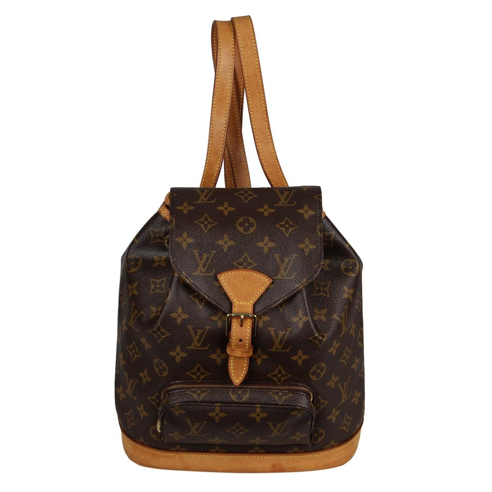 a1425329d952 Louis Vuitton Monogram Canvas Weekend Travel Bags Backpack Image 0 ...