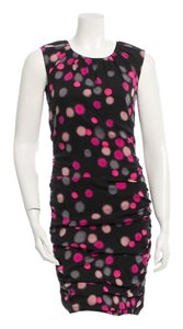 Diane von Furstenberg short dress Multicolor Polka Dot on Tradesy