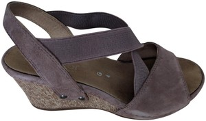 Gabor Dark Nude/Taupe Sandals