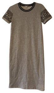 Kenzo short dress grey on Tradesy