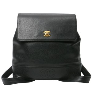 Chanel Vintage Caviar Backpack
