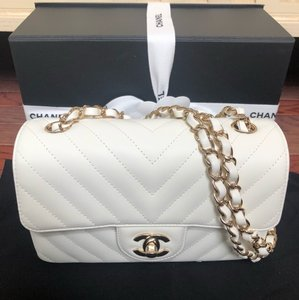 Chanel Classic Quilted Cc Monogram Gabrielle Cross Body Bag