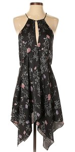 Free People short dress Sleeveless Keyhole Floral Print on Tradesy