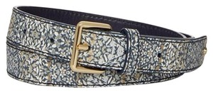 "Tory Burch New with Tag KERRINGTON 1"" BELT KALEIDOSCOPE SLG COMBO C size small"