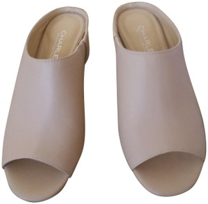 Charles by Charles David Sexy Cute Classic NUDE Mules