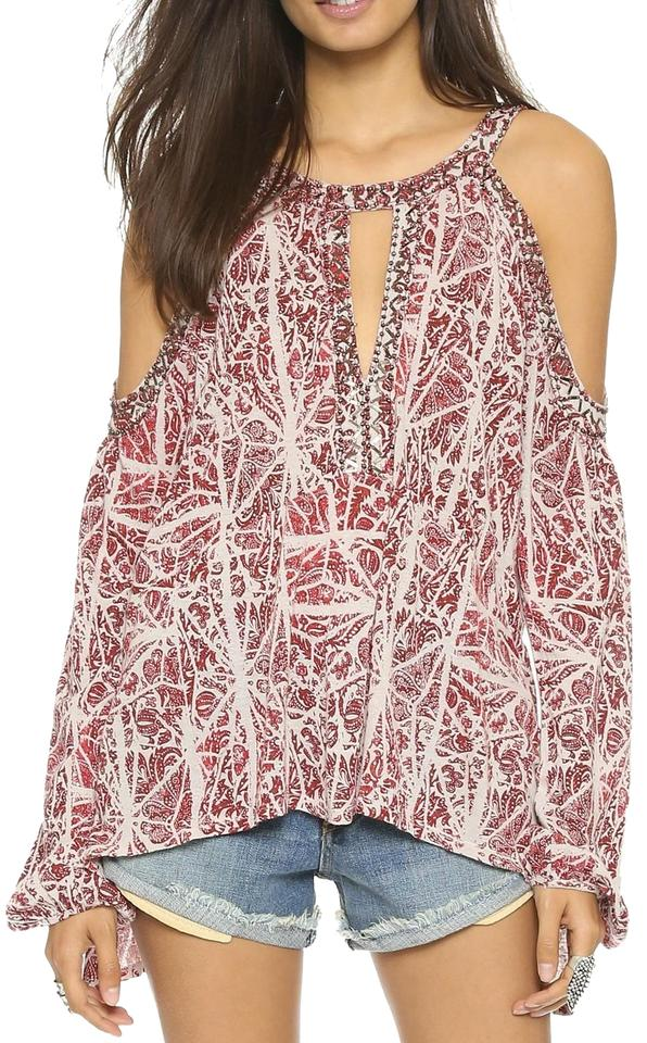 9ca86b22717eca Free People Cold Shoulder Tops - Up to 80% off at Tradesy