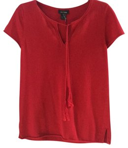 Sara Campbell Cashmere Short Sleeve Sweater