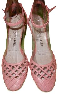 b8dd6b1b899dd3 Chanel Christian Louboutin Pumps pink Sandals. Chanel Pink Pretty In Strappy  ...
