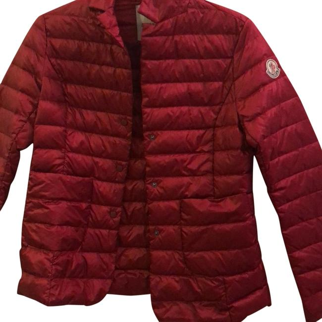 Item - Burgundy/Red Light Down Jacket Size 4 (S)