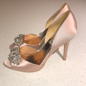 Badgley Mischka Blush Giana Pumps Size US 7 Regular (M, B)