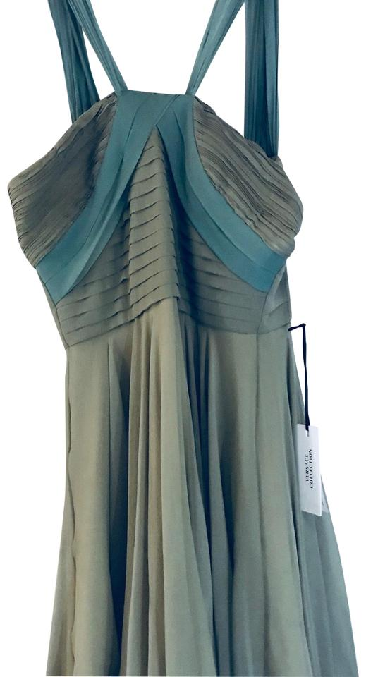buy popular b6be0 a2b5a Versace Collection Sea-foam Green Abito Donna Tessuto Short Cocktail Dress  Size 4 (S) 66% off retail