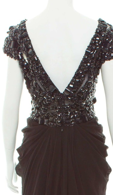 Elie Saab Studded Embellished Silk Couture Dress